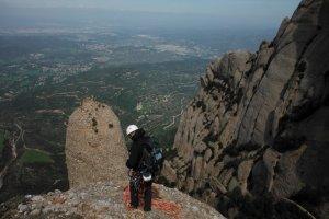 Via Cervera-Raül a la Talaïa Gran, Montserrat, Espagne 33