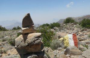 Qarn al Ghamaydah, Jebel Shams, trek W4, Oman 18
