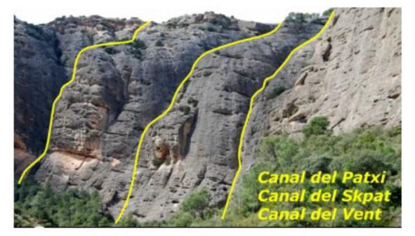 Canal del Skpat, Els Ports 3