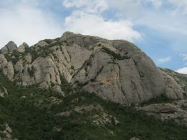 Abierto hasta el atardecer a la Serrat d'En Muntaner, Montserrat, Espagne 9