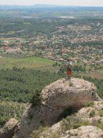 Abierto hasta el atardecer a la Serrat d'En Muntaner, Montserrat, Espagne 11