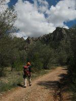 Abierto hasta el atardecer a la Serrat d'En Muntaner, Montserrat, Espagne 3