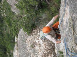 Abierto hasta el atardecer a la Serrat d'En Muntaner, Montserrat, Espagne 7