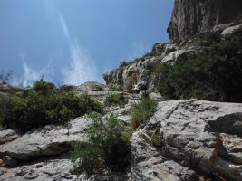 Via Africa a la Paret del Grau, Coll de Nargo, Espagne 11