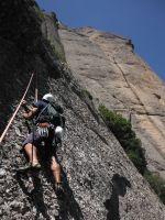Easy Rider a la Paret de l'Aeri, Montserrat, Espagne 12