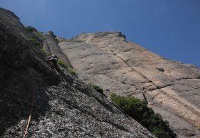 Easy Rider a la Paret de l'Aeri, Montserrat, Espagne 16