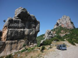 Via Africa a la Paret del Grau, Coll de Nargo, Espagne 1