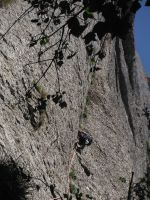 Easy Rider a la Paret de l'Aeri, Montserrat, Espagne 7