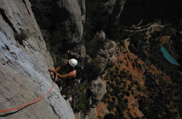 Via Africa a la Paret del Grau, Coll de Nargo, Espagne 2