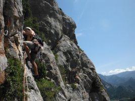 Via Africa a la Paret del Grau, Coll de Nargo, Espagne 8