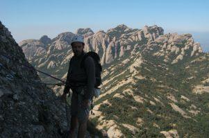 15. Relais 4, vue Montserrat