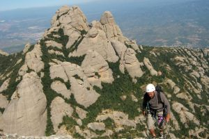 Stromberg a la Gorra Frigia, Montserrat, Espagne 27