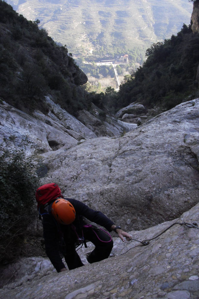 Torrent de Vallmala, Montserrat 18