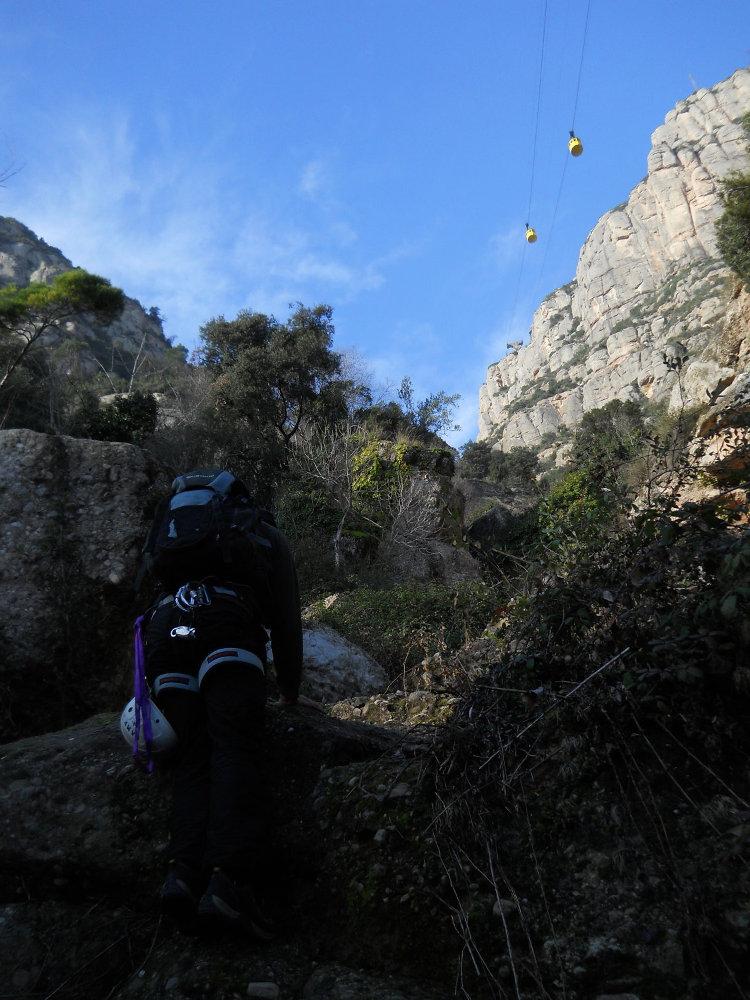 Torrent de Vallmala, Montserrat 6