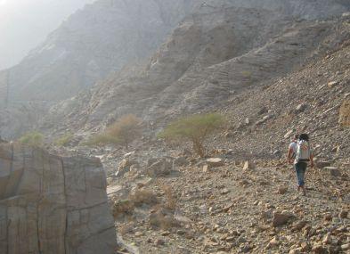 20. Dans le wadi au retour