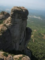 Lapónia a la Portera Gran, Montserrat, Espagne 16