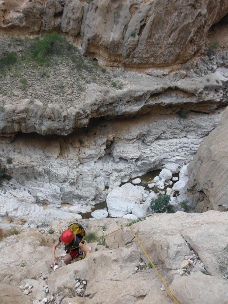 Wadi Ta'ab, Hajar Oriental 88