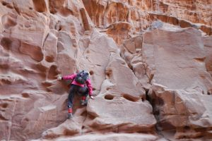 Khazareh Canyon, Jebel Um Ishrin, Wadi Rum, Jordanie 15