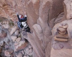 Khazareh Canyon, Jebel Um Ishrin, Wadi Rum, Jordanie 11