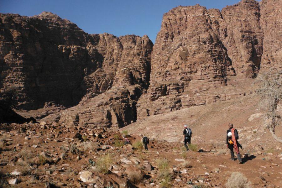 Wadi Tibn, Wadi Sabra, Petra, Jordanie 2