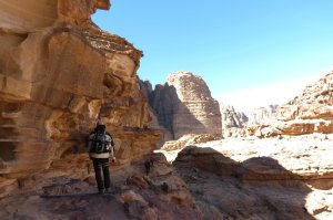Jebel Mayeen, Wadi Rum, Jordanie 14