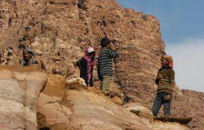 Wadi Tibn, Wadi Sabra, Petra, Jordanie 12