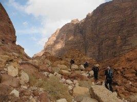 Wadi Tibn, Wadi Sabra, Petra, Jordanie 19
