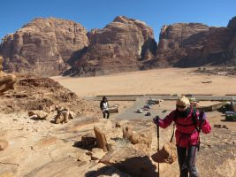 Jebel Mayeen, Wadi Rum, Jordanie 3