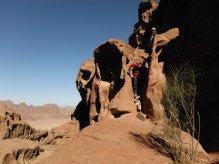 25. desescalade pour retourver le lit du canyon