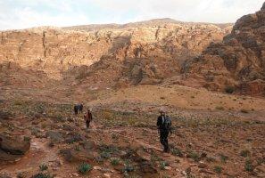 Wadi Tibn, Wadi Sabra, Petra, Jordanie 31