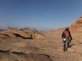 Orange Sunshine, Burdah Rock, Wadi Rum, Jordanie 30