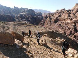 Wadi Tibn, Wadi Sabra, Petra, Jordanie 5