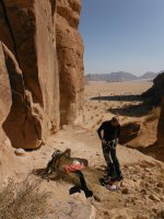 Le Bal des Chameaux, Barrah Canyon, Wadi Rum, Jordanie 16