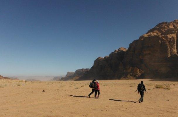 Rakabat Canyon, Jebel Um Ishrin, Wadi Rum, Jordanie 2
