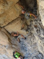 Leopard Canyon, Wadi Qada'a, Ras Al Khaimah, Émirats Arabes Unis 31