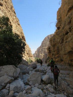 33. on retrouve le lit du wadi