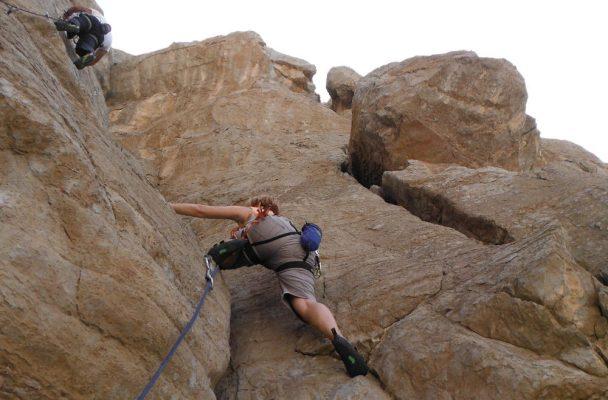 3Somes climbing, Ras Al Khaimah, Émirats 2