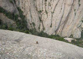 Esquena del Diable a la Roca dels Onze, Montserrat, Espagne 11