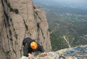 Esquena del Diable a la Roca dels Onze, Montserrat, Espagne 12