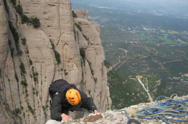 Esquena del Diable a la Roca dels Onze, Montserrat, Espagne 2