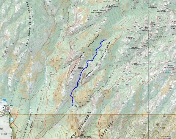Topo du canyon