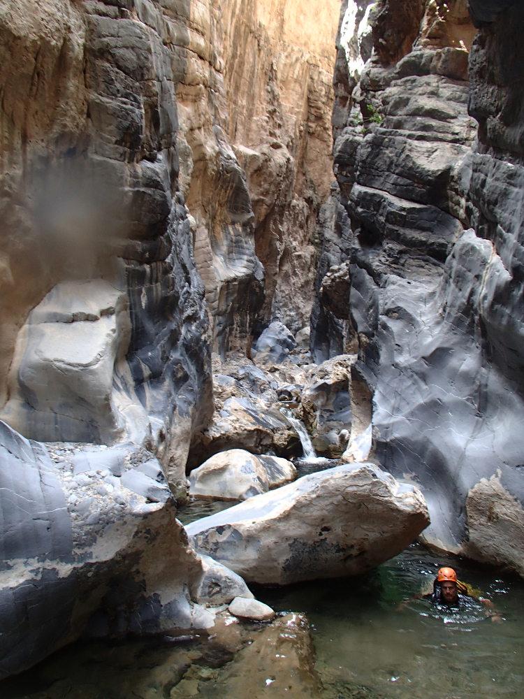 Snake Gorge Canyon, Jebel Akhdar 12