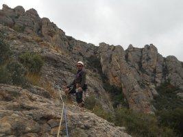 L'avi Trepador a la Codolosa, Montserrat, Espagne 16