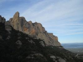 Via Normal a la Momieta, Montserrat, Espagne 3