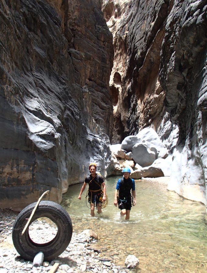 Snake Gorge Canyon, Jebel Akhdar 28