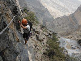 Ferrata du Jebel Shams, Jebel Akhdar 44