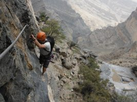 Ferrata du Jebel Shams, Jebel Akhdar 46