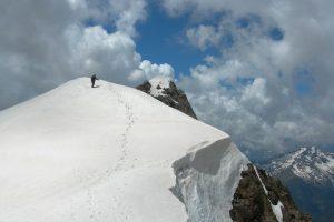Pico Posets por la Cresta Espadas, Aragon 42