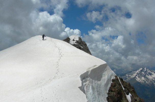 Pico Posets por la Cresta Espadas, Aragon 2