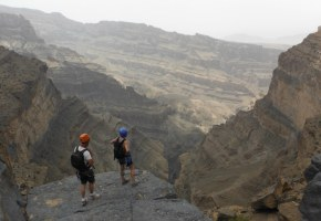 Ferrata du Jebel Shams, Jebel Akhdar 47